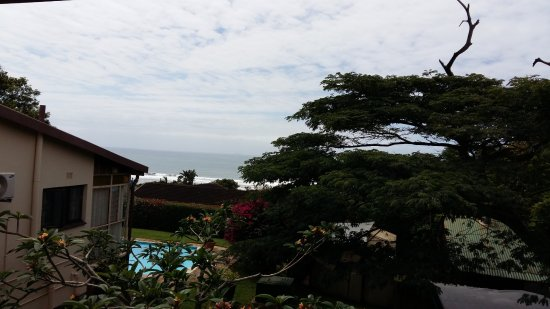 Illovo Beach, South Africa: the fantastic sea view from the patio