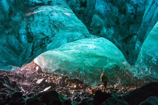 Tasiilaq, Greenland: Blue Whale ice cave