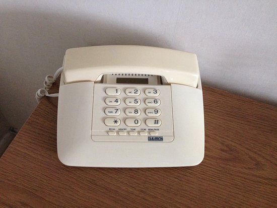 The Cormorant Hotel: The phone was the most modern thing about the room...