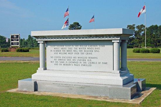 Four Oaks, NC: NC Monument