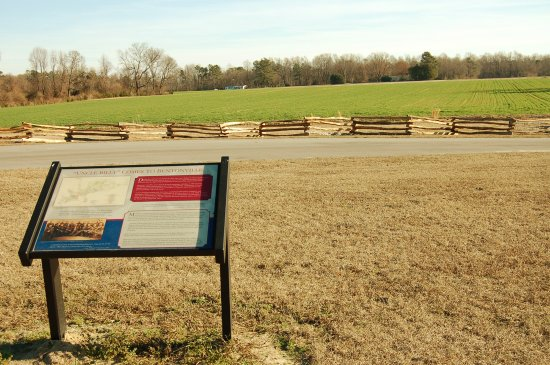 Four Oaks, NC: Sherman's Headquarters Tour Stop