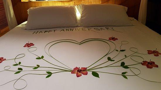 Moofushi Island: Décoration pour anniversaire de mariage