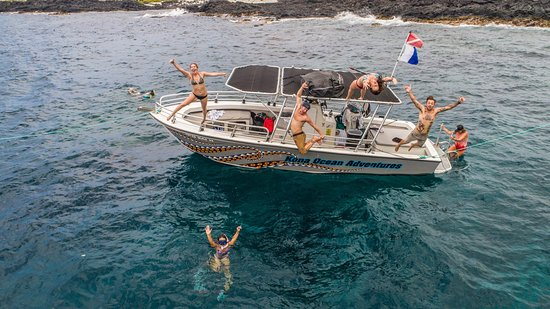 Kailua-Kona, HI: Our happy team every day creating unforgettable memories