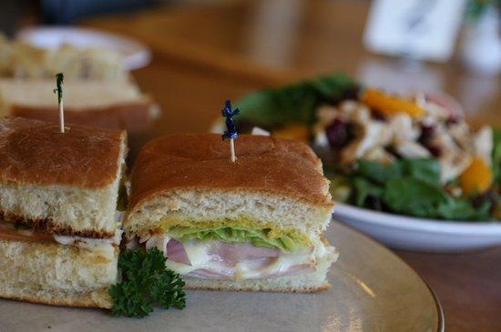 Kewanee, IL: A ham melt on freshly baked bread.