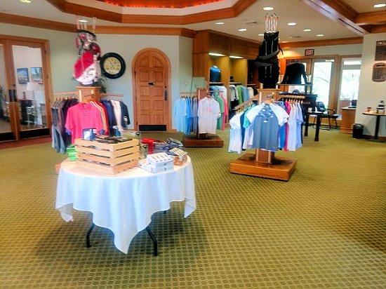 Osprey Cove Golf Club: pro shop