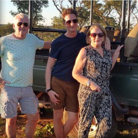 Welgevonden Game Reserve, South Africa: Tussenstop tijdens de safari, tijd voor een hapje en drankje