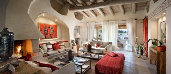 San Pantaleo, Italia: Lobby