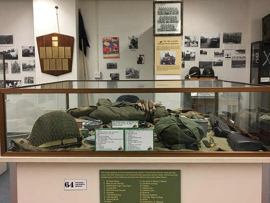 12th Armored Museum: This is what they carried?