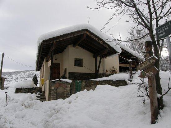 El Tupi de la Cerdanya: nevada històrica