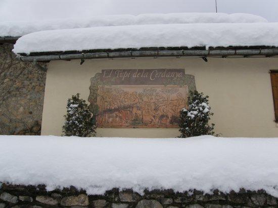 El Tupi de la Cerdanya: 70 cm de neu