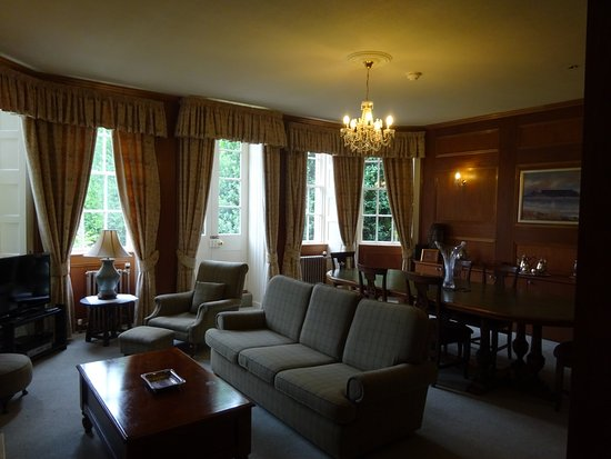 Castle Hotel Huntly : Our sitting room