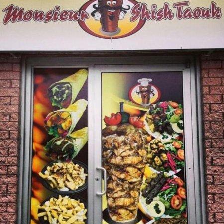 Marieville, Canadá: Monsieur shish taouk
