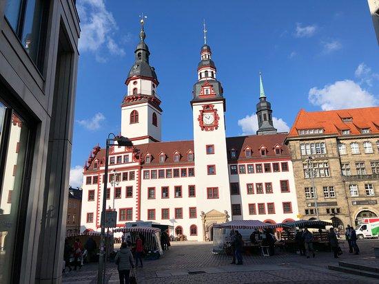 Das Chemnitzer Rathaus