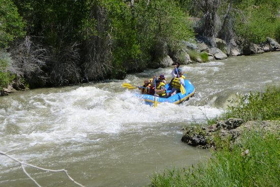 Marysvale, UT: Even lower water levels are great fun.