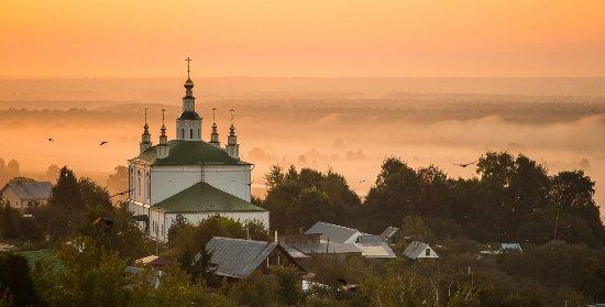 Vladimir, Russia: Свято-Боголюбский Алексиевский мужской монастырь