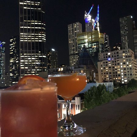 Great views, cosy roof top bar!