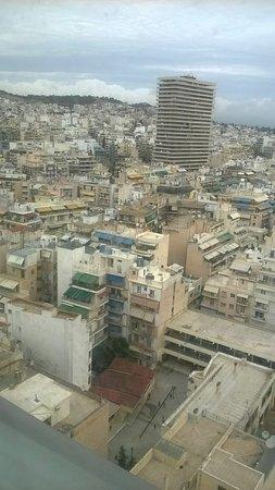 President Hotel : Η θέα από τον 18ο όροφο!