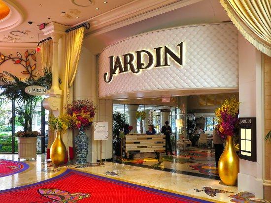 Jardin restaurant wynn picture of jardin las vegas - Restaurant jardin d acclimatation neuilly ...
