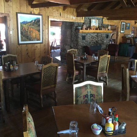 Almont, CO: A view of our dining room.