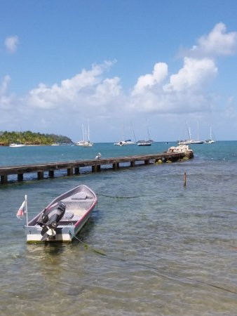 Puerto Lindo devant de centre de plongee