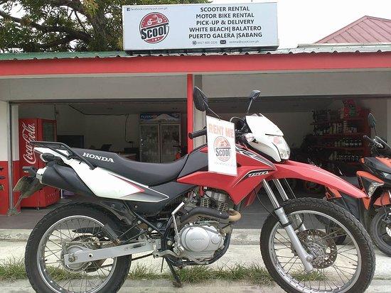 Honda XR150L 150cc Manual Motorcycle rental Puerto Galera Scoot.com.ph