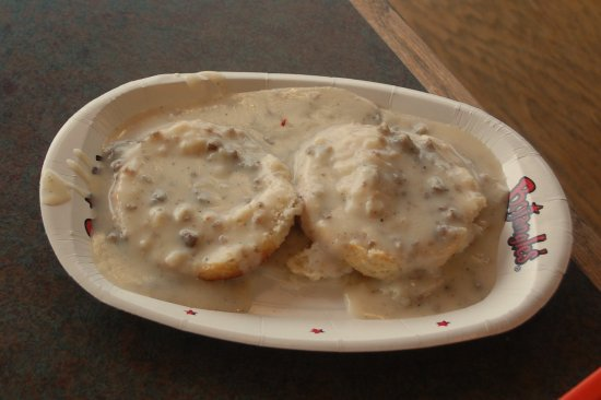 Muscle Shoals, AL: You ain't eating in the South if there isn't gravy!