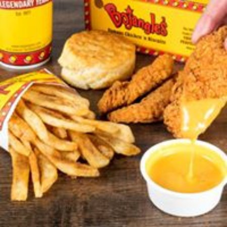 Muscle Shoals, AL: Never been to Bojangles? Start here... 4 pc. Supreme Dinner, Seasoned Fries, & FREE Iced Tea!