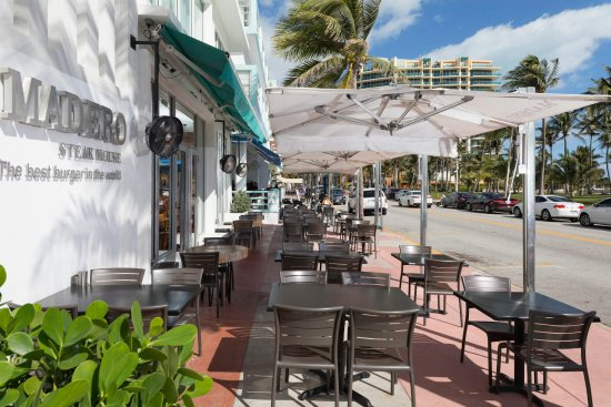 Madero Steak House Best Hy Hour Of Ocean Drive