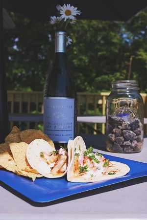 Manchester, ME: Tacos on the deck!