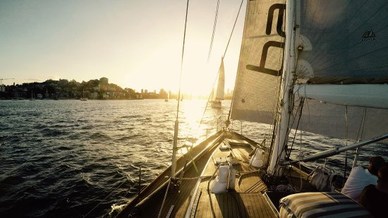 Woollahra, Australien: Sailing to the finish line