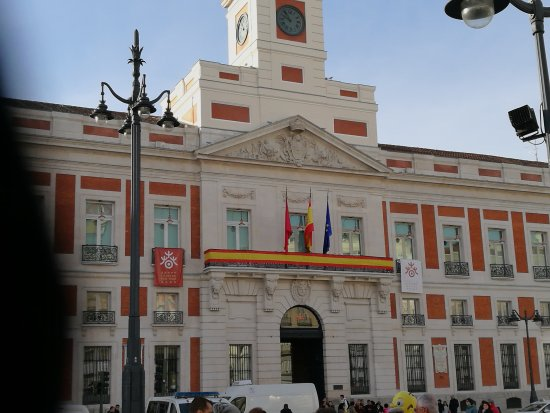 Fachada Picture Of Real Casa De Correos Madrid