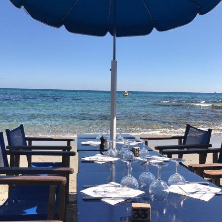 La Plage des Salins Restaurant, Saint-Tropez - Restaurant Reviews ...
