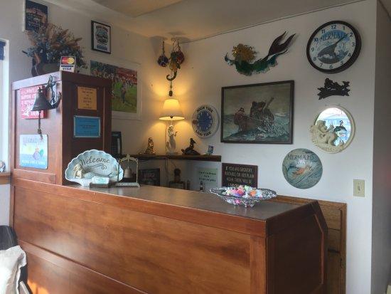 Long Beach, WA: Check-in Desk