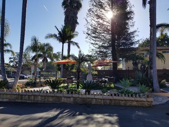 Brisas Del Mar, Inn At The Beach: patio, morning view