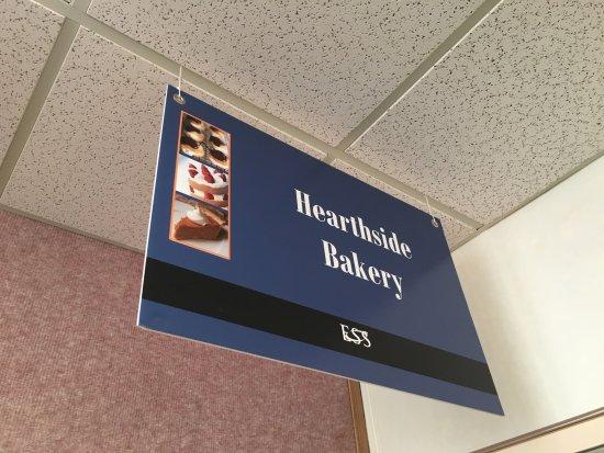 Deadhorse, AK: Hearthside Bakery Sign
