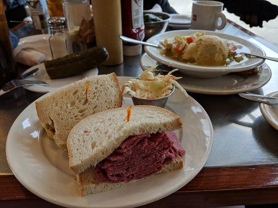 Rye Brook, NY: Corned beef sandwich