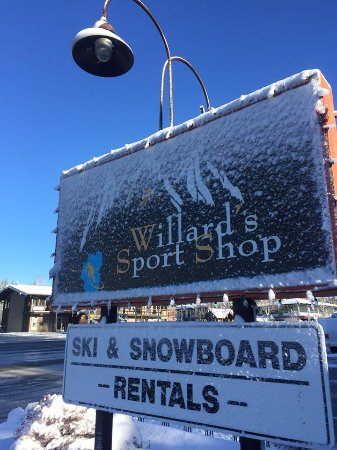 Tahoe City's Willard's Sport Shop has everything you need for the ski season