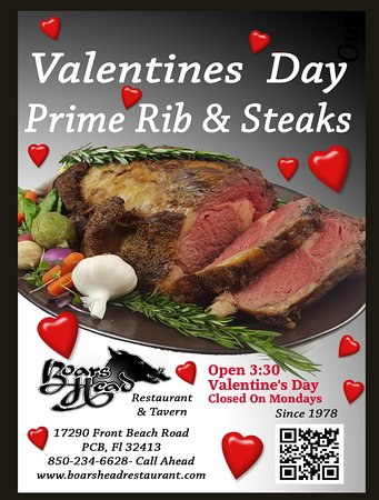Boars Head Restaurant Tavern Join Us On Valentines Day Pcb