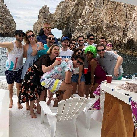 Cabo Party Fun: El Arco