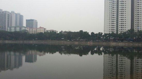 Linh Dam Lake