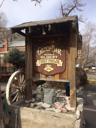 Genoa, NV: Thirst Parlor as it was referred to by a prior owner