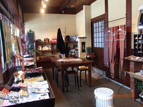 Hida, Giappone: 店内では和雑貨を販売しています