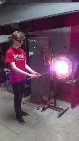 Columbia, PA: Heating the glass