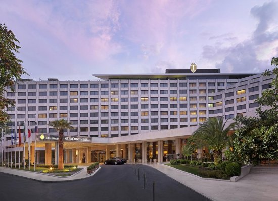 Thank You For The Shuttle Bus Review Of Intercontinental Athenaeum Athens Greece Tripadvisor