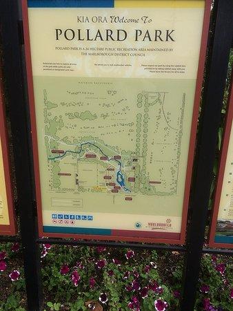 Taman Pollard: Signage And Geography