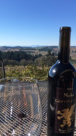 Turner, Oregón: Wine with a view!
