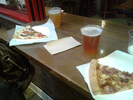 great beer and good pizza