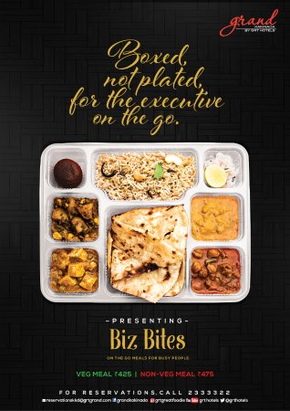 for busy people biz bites is ideal... Contact Garden Cafe, Grand Kakinada by GRT Hotels