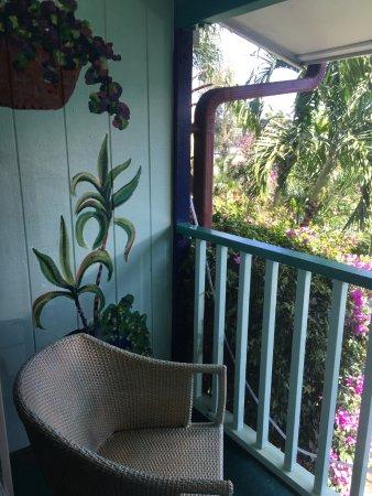 جاردن أيلاند إن: room balcony