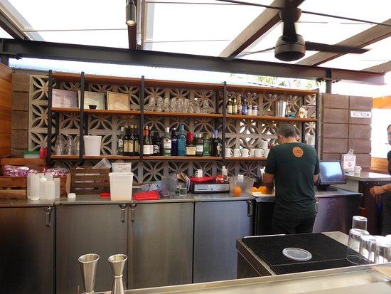 Aloha Mixed Plate : Bar area